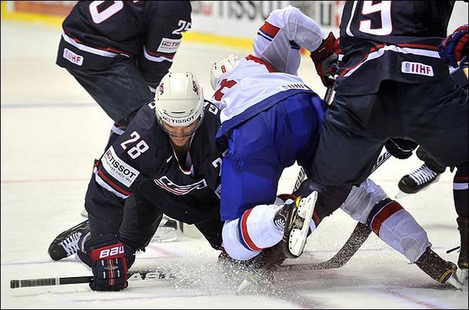 2 мая 2011 года. Кошице. Чемпионат мира. США — Норвегия — 4:2