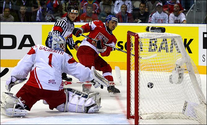 2 мая 2011 года. Братислава. Чемпионат мира. Чехия — Дания — 6:0