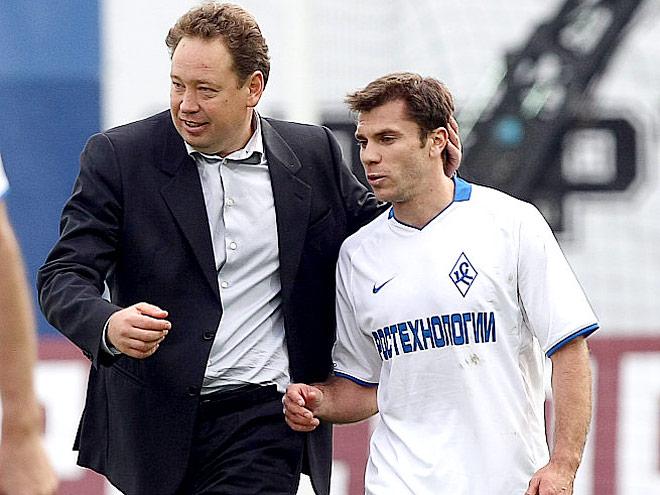 «Крыльями» успел порулить нынешний главный тренер сборной России Леонид Слуцкий