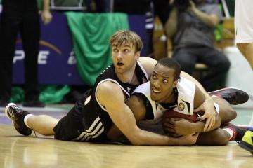 Баскетбол в Згожелеце нередко превращался в борьбу