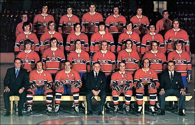 """Обладатели Кубка Стэнли 1973 года – """"Монреаль Канадиенс""""."""