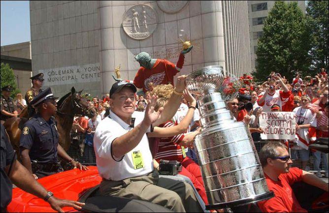 """Уильям Скотт """"Скотти"""" Боумэн - живая легенда Монреаля, Питтсбурга и Детройта."""