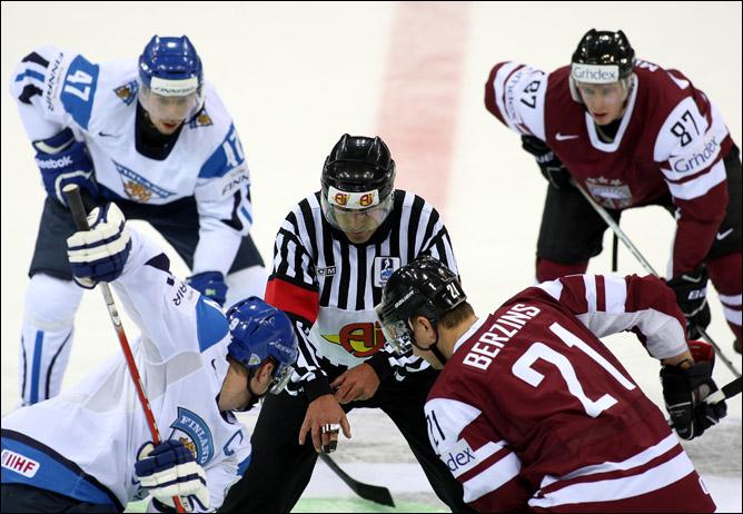 Матч тура: Латвия – Финляндия.