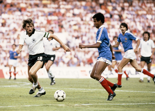 ФРГ — Франция — 3:3 (5:4 пен.). ЧМ-1982. Полуфинал