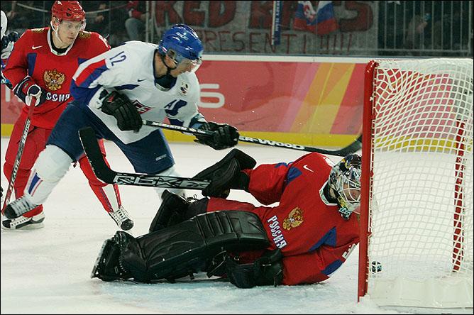 В 2006-м, в Турине началась олимпийская история встреч сборных Словакии и России.