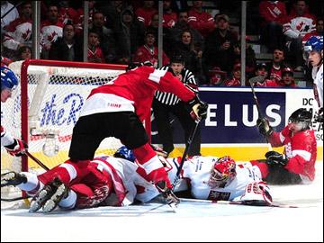 29 декабря 2011 года. Калгари. Молодежный чемпионат мира. Канада — Чехия — 5:0