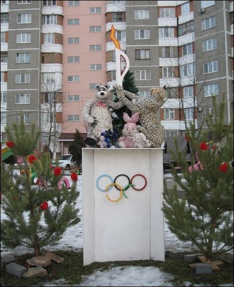 Двор-победитель конкурса на лучшее благоустройство в Краснодаре
