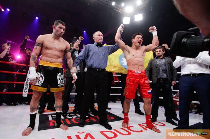 В своём последнем бою Хасиков нокаутировал Гаго Драго