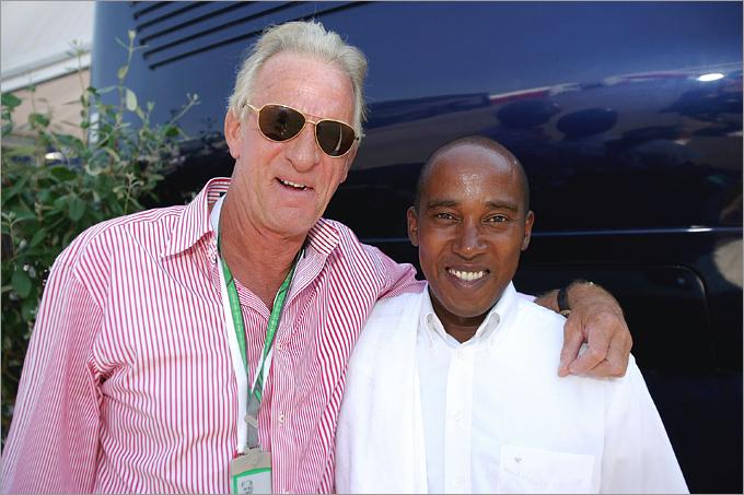 Джон Баттон и Энтони Хэмилтон на Гран-при Турции 2006 года