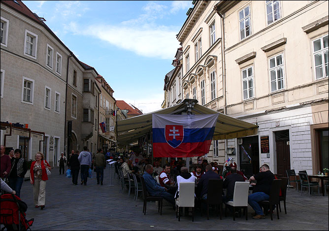 Братислава, Старый город.