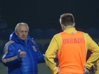 Фоменко с новичком Сидорчуком