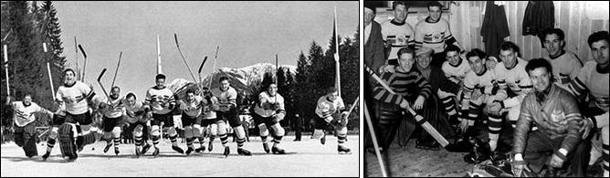Топ-100 историй ИИХФ. История № 15. Олимпийское золото Великобритании на ОИ-1936. Фото 01.