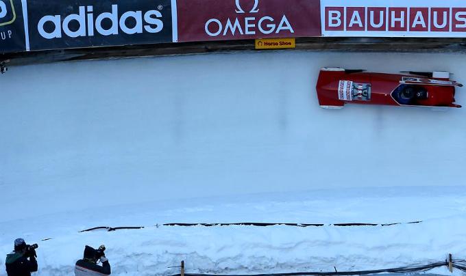 Трасса Olympia Bob Run