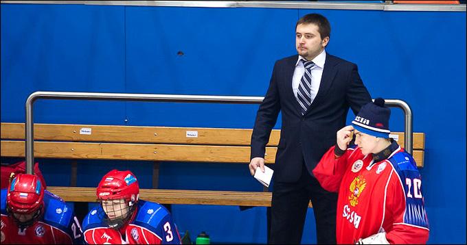 Олег Ромашко в юниорской сборной России