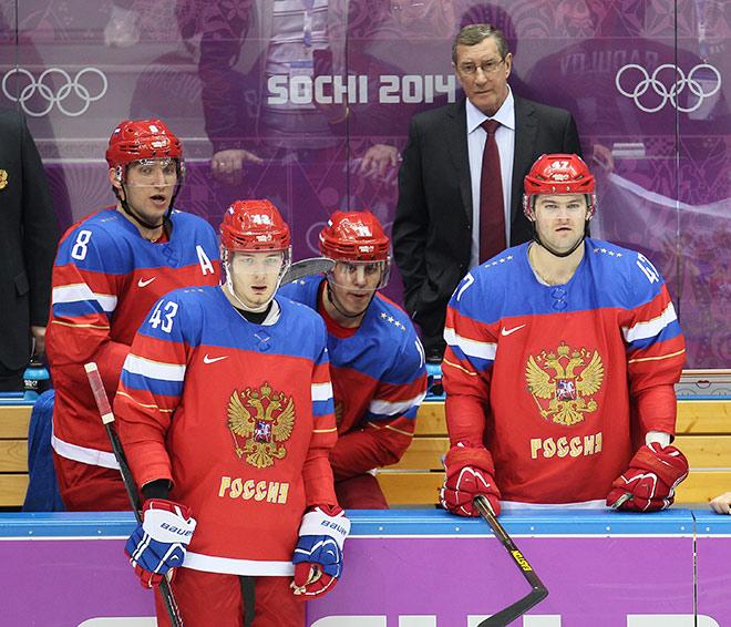 В сборной России