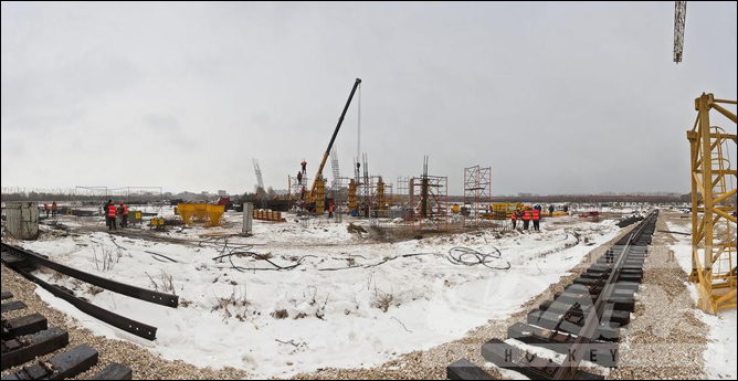 """Пока строительство нового ледового дворца для """"Лады"""" идет ни шатко, ни валко, а сам непостроенный дворец уже устарел."""