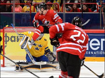9 мая 2013 года. Стокгольм. Чемпионат мира. Групповой этап. Швеция — Канада — 0:3