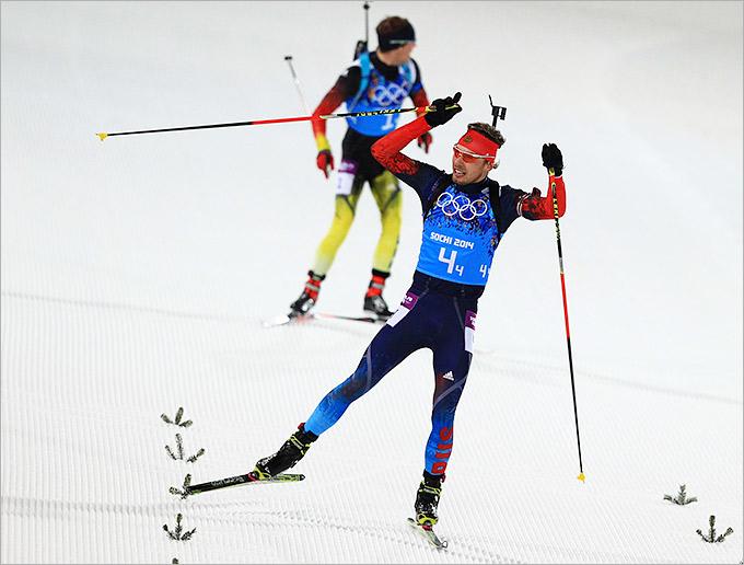 Антон Шипулин: победный финиш