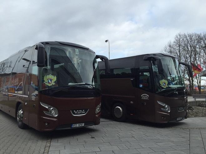 Автобусы для сборной России