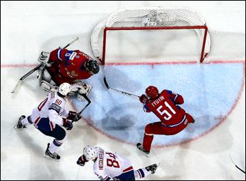 9 мая 2013 года. Хельсинки. Чемпионат мира. Групповой этап. Россия — Франция — 1:2