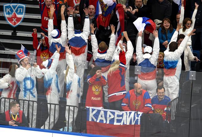 12 мая 2014 года. Минск. Чемпионат мира. Групповой этап. США — Россия — 1:6
