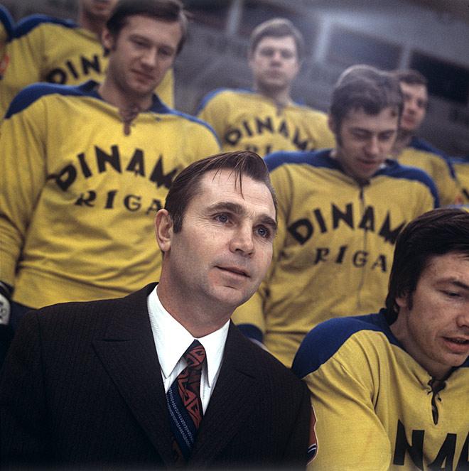 Виктор Тихонов в рижском «Динамо»