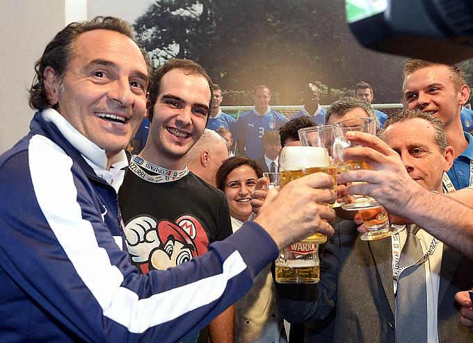 Чезаре Пранделли готовится к финалу Евро-2012