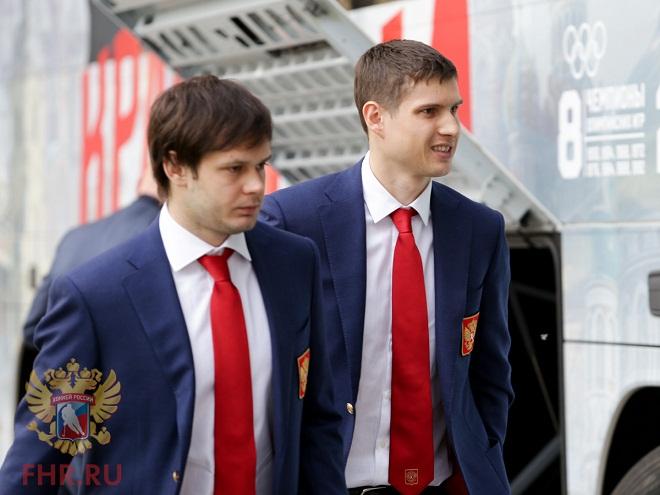 Евгений Дадонов и Вадим Шипачёв