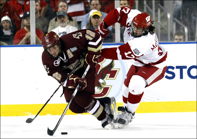 Хоккей. 2010. Бостонский колледж - чемпион NCAA. Фото 02.