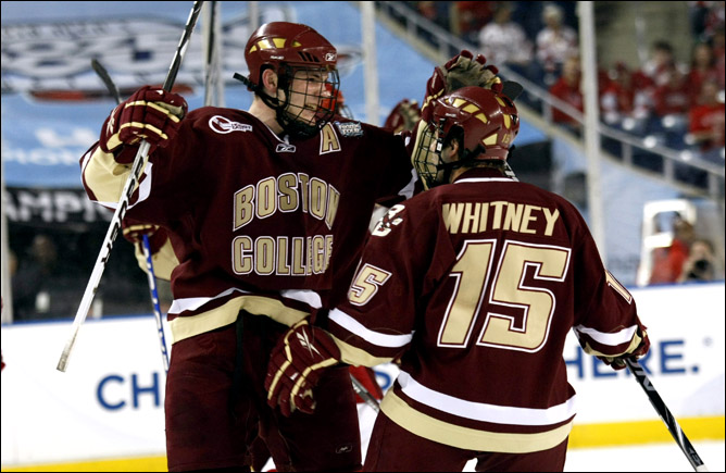 Хоккей. 2010. Бостонский колледж - чемпион NCAA. Фото 03.
