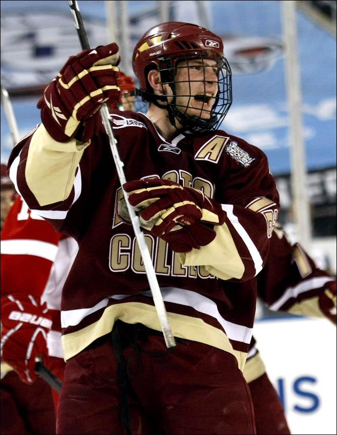 Хоккей. 2010. Бостонский колледж - чемпион NCAA. Фото 04.