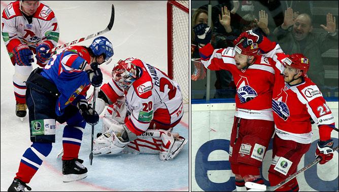 "Хоккей. Сезон 2009/10. ""Локомотив"" (Ярославль). Фото 04."