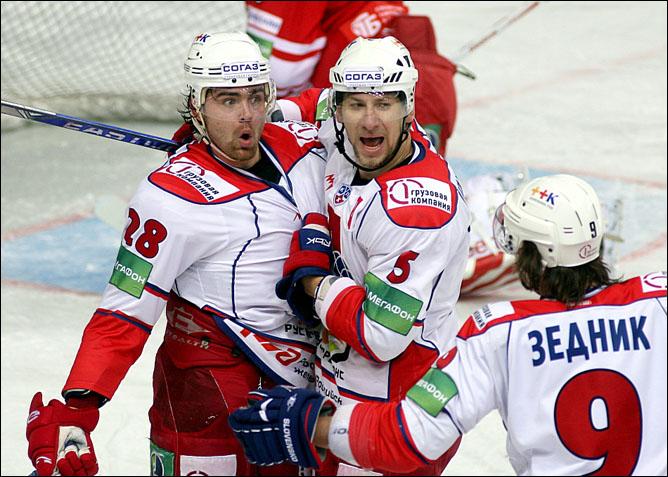 "Хоккей. Сезон 2009/10. ""Локомотив"" (Ярославль). Фото 07."