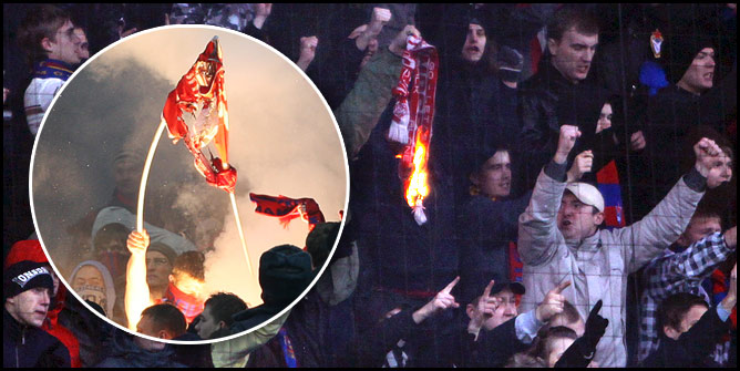 Сжигание вражеских флагов