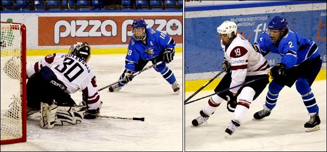 13.04.2010. Хоккей. Чемпионат мира U-18. Финляндия - Латвия - 7:2.