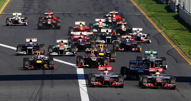 Формула-1 стартовала