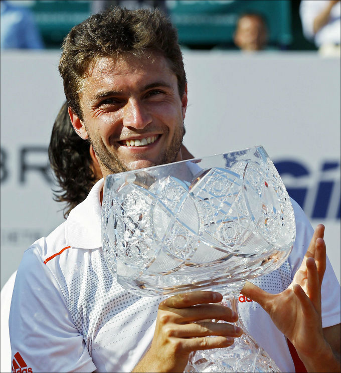 Жиль в третий раз выиграл турнир в Бухаресте