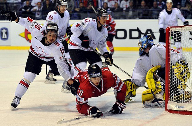 3 мая 2011 года. Кошице. Чемпионат мира. Канада — Швейцария — 4:3