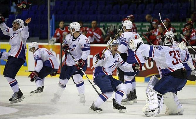 3 мая 2011 года. Кошице. Чемпионат мира. Франция — Белоруссия — 2:1