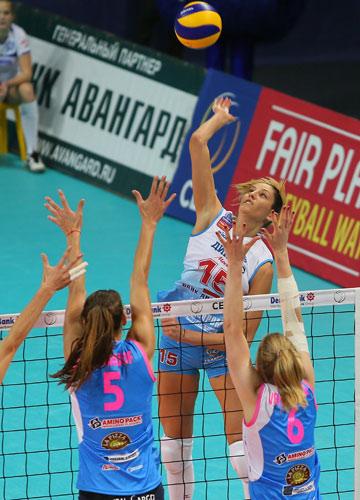 В атаке Татьяна Кошелева
