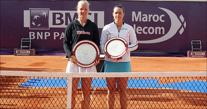Кики Бертенс завоевала титул на своём втором турнире WTA