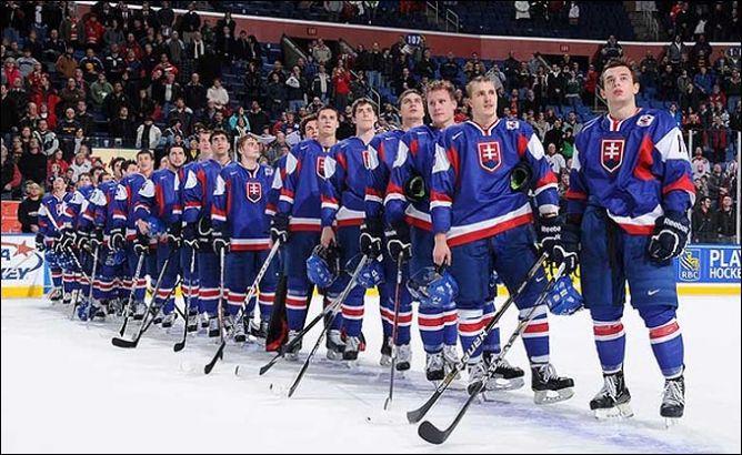 Молодёжная сборная Словакии.