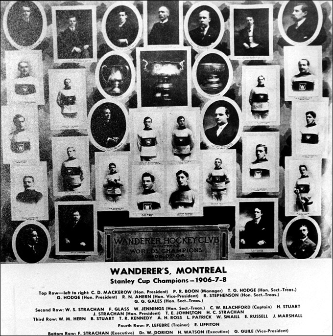 """Монреаль Уондерерс"", 1908 год"
