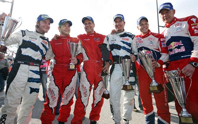 Первый российский подиум в WRC