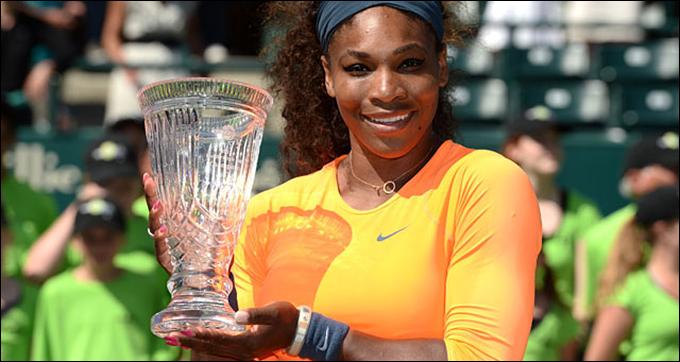 Серена Уильямс выиграла 15 матчей подряд в Чарльстоне