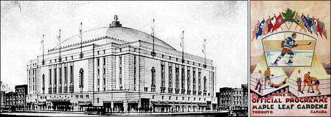 Кубок Стэнли. Часть 40. 1931-1932. «Мейпл Лиф Гарденз» и официальная программа арены на 1932 год.