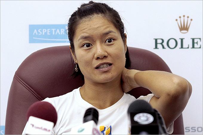 Ли На рано проиграла, но стала второй ракеткой мира