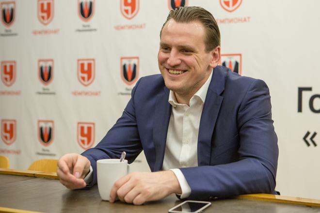 Дмитрий Булыкин в гостях у «Чемпионата»
