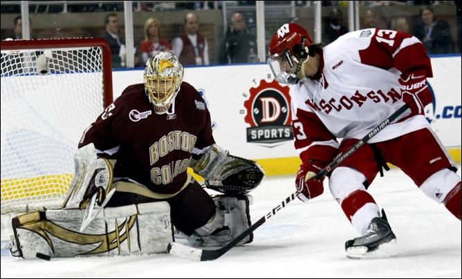 Хоккей. 2010. Бостонский колледж - чемпион NCAA. Фото 05.