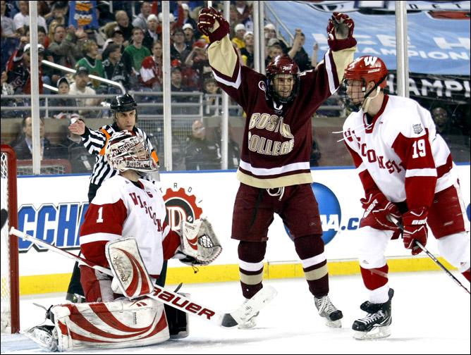 Хоккей. 2010. Бостонский колледж - чемпион NCAA. Фото 06.